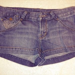 Express X2 Denim Shorts